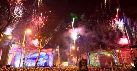 new year decorations dublin new year s dublin recap of the capital s celebrations