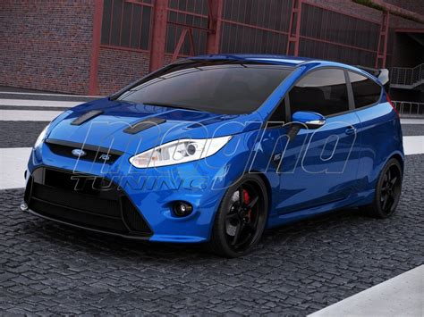 ford fiesta mk facelift rs  front bumper