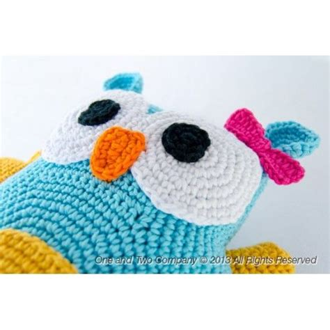 free pattern owl cushion free crochet owl patterns owl pillow crochet pattern