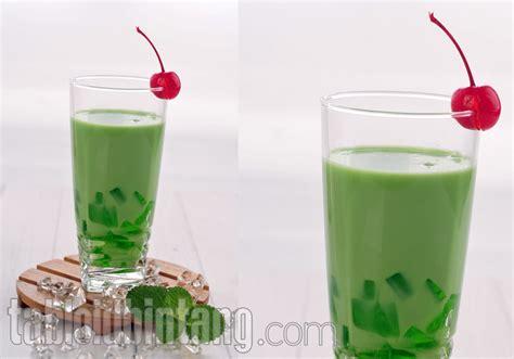 Latte Jelly Drink resep matcha latte jelly float tabloidbintang