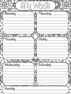 daily planner cover sheet printable free weekly planner printable pinteres