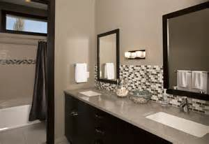 Bathroom Vanity Backsplash Ideas by 25 Bathroom Backsplash Designs Decorating Ideas Design