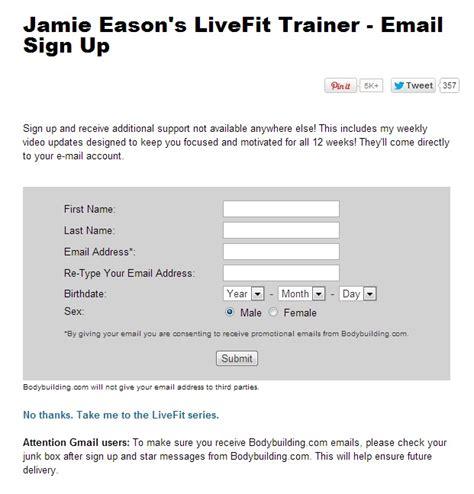 newsletter signup form template newsletter signup form exles