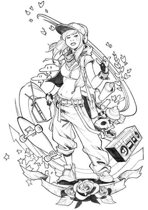 Coloring Page Ideas by T Shirt Design Commission By Carlosgomezartist
