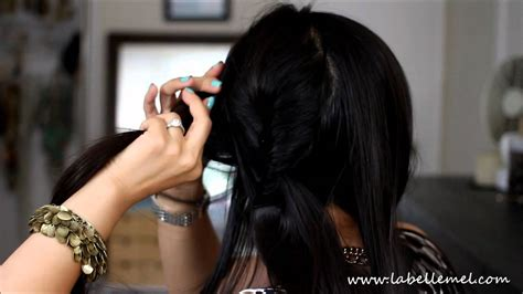 easy back to school hairstyles no heat 6 simple no heat back to school work hairstyles youtube