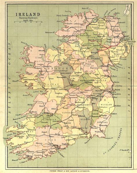 ireland county map ireland map county