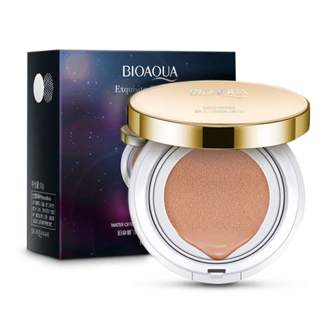 Bioaqua Bb Exquisite Delicated bioaqua exquisite and delicate bb cushion gold tanpa refill elevenia