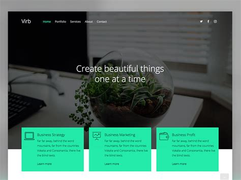 virb free html5 multi purpose website template uicookies
