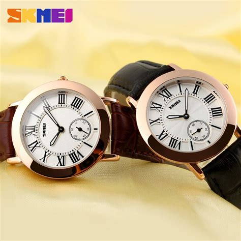Jam Tangan Wanita Skmei Leather Water Resistant 30m 1083cl1 jam tangan wanita skmei fashion casual leather