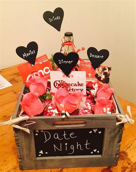 Date Night Gift Cards - gift card raffle basket gift baskets on pinterest gift baskets men gifts and