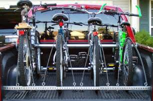 truck bed bike rack 13 steps with pictures