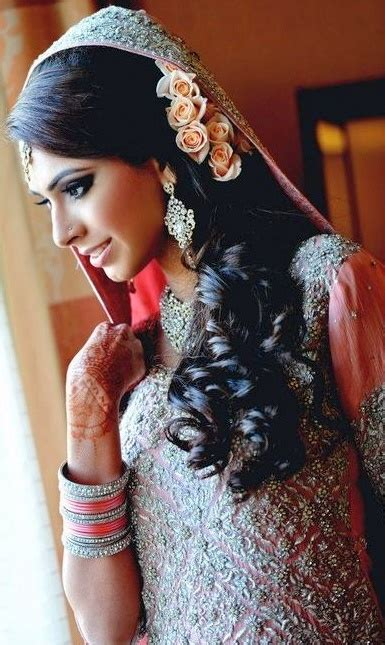 hairstyles for long hair on saree indian bridal hairstyles for long hair with flowers in saree