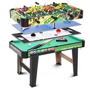multigame tisch multigame 4 in 1 tischfu 223 spieletisch poolbillard