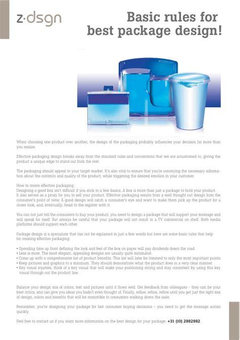 home design basic rules basic rules for package design