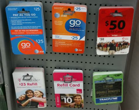 Refill Gift Card - prepaid u s mobile phone howto for u s visitors