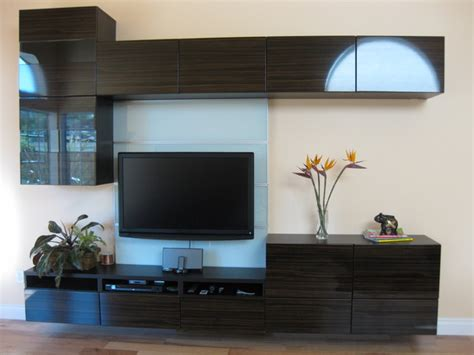 new floating wall unit modern living room ikea besta