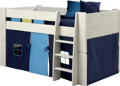 Steens Bunk Beds Steens For Mid Sleeper Tent In And Light Blue The Home And Office Stores