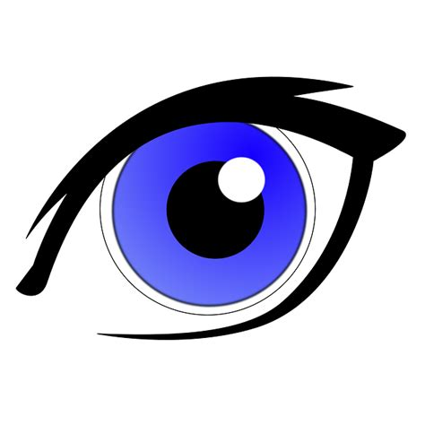Eyeball Clipart Free by Eye Blue Iris 183 Free Vector Graphic On Pixabay