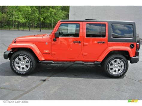 jeep sahara red the gallery for gt red jeep wrangler sahara unlimited