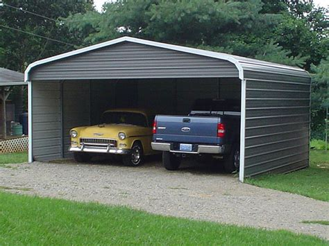 Two Car Garage With Carport by Carports Two Car Carports 2 Car Carports