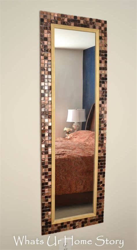 tile bathroom mirror frame 25 best ideas about tile mirror frames on