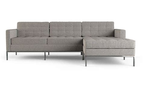 brushed leather sectional sofa 43 best mid century sofas images on couches