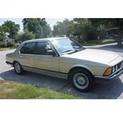 1987 BMW 735i  German Cars For Sale Blog