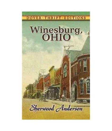 anthem dover thrift editions winesburg ohio dover thrift editions buy winesburg ohio dover thrift editions online at