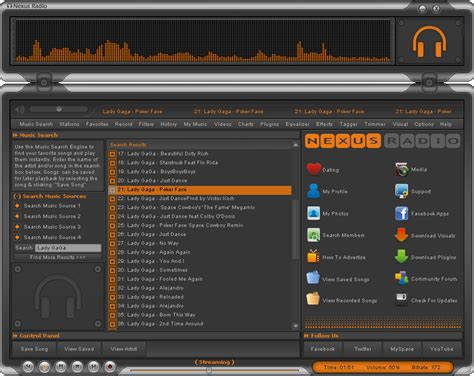 Logik Radio Also Streams Files Of Your Pc nexus radio