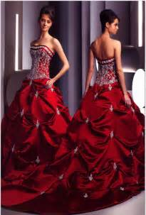 Red and black wedding dress red and white wedding dress woman dress