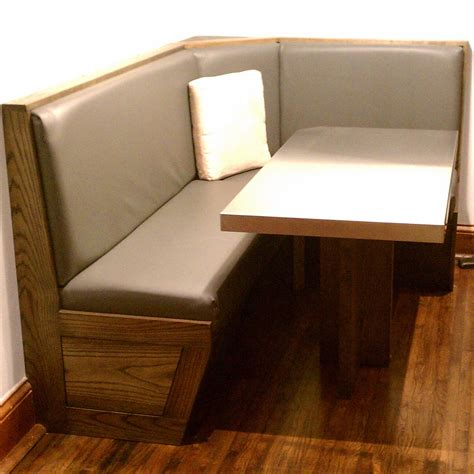 Kitchen Table Booth Seating My Kitchen Table Seems So Boring After Saw What This Built Of With Booth Seating For Home