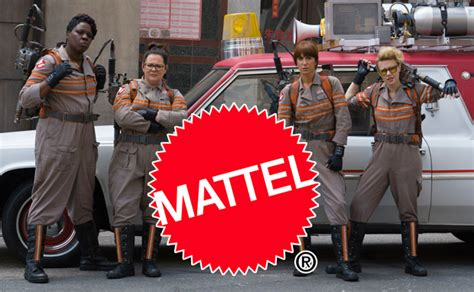 ghostbusters film 2015 mattel will be releasing products for new ghostbusters film