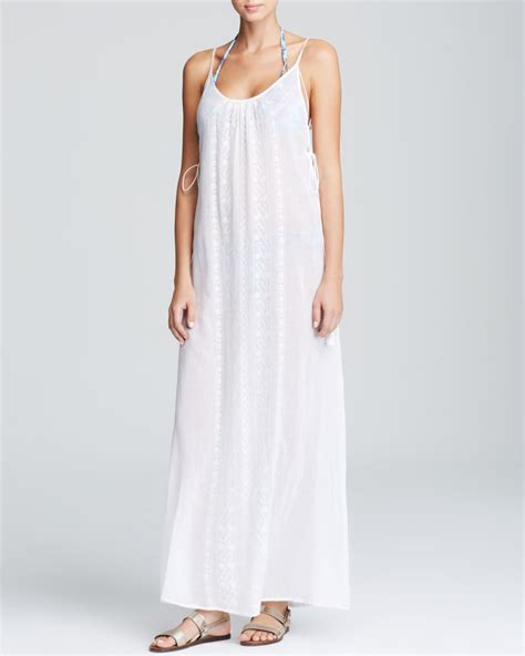 Maxi Dress Cover Up by Lyst Nanette Lepore Calcutta Maxi Dress Swim Cover Up In