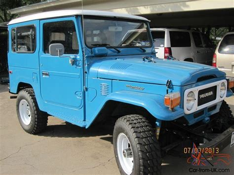 1980 Toyota Land Cruiser For Sale 1980 Toyota Fj40 Land Cruiser