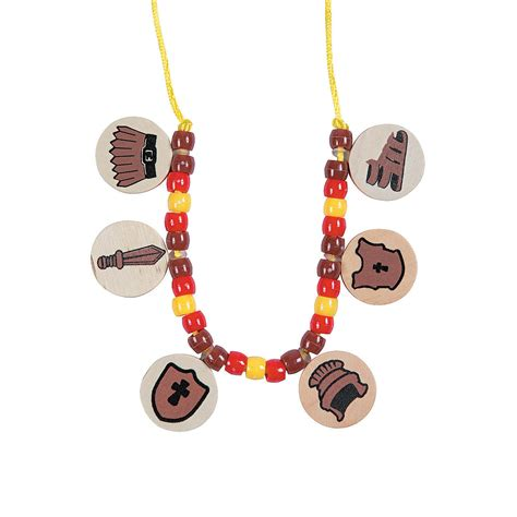 necklace craft armor of god necklace craft kit trading