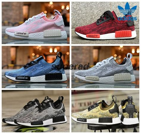 adidas nmd runner primeknit camo pack yellow blue