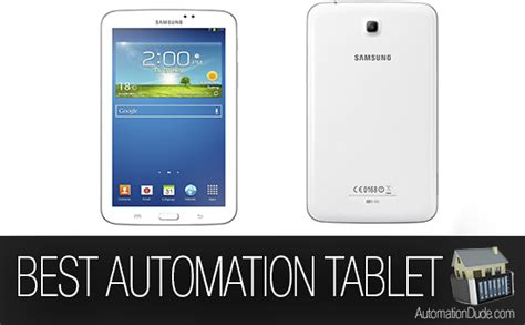 what s the best tablet for home automation automation dude