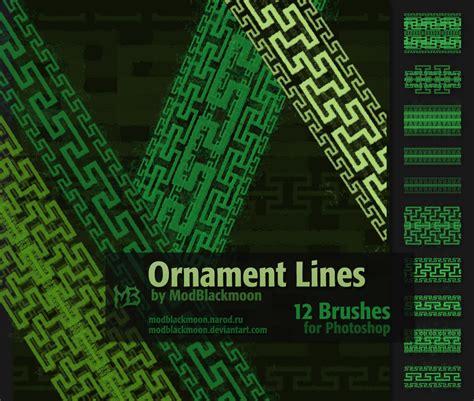 photoshop brush pattern lines modblackmoon s artistic photoshop brushes dark grunge