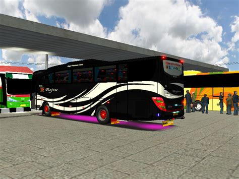 mod bus game haulin indonesia terbaru gayuh bejeu kumpulan mod traffic maphaulin