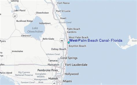 west palm florida map west palm canal florida tide station location guide