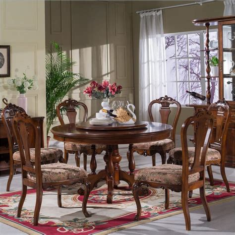 style italian dining table  solid wood italy style