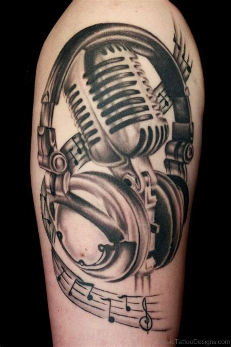 music design tattoo ideas 51 funky tattoos
