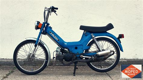 Mofa Puch by Blue Puch Maxi Sold Detroit Moped Works