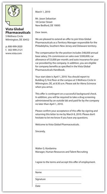 sample job offer letter template and salary negotiation lv