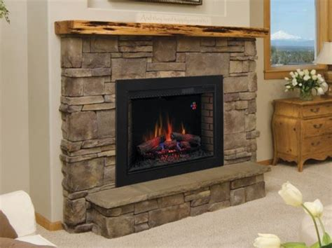 Classicflame 33 Inch Spectrafire Fireplace Insert Flush Fireplace Kits Indoor Gas