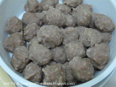 membuat bakso tahu tanpa daging resep homemade bakso kuah daging sapi just try taste