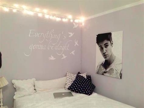 justin bieber bedroom tumblr room monotone black white grey soothing
