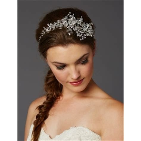 Wedding Hair Accessories In Dubai by Mariell Wedding Hair Vine With Sprays Bridal