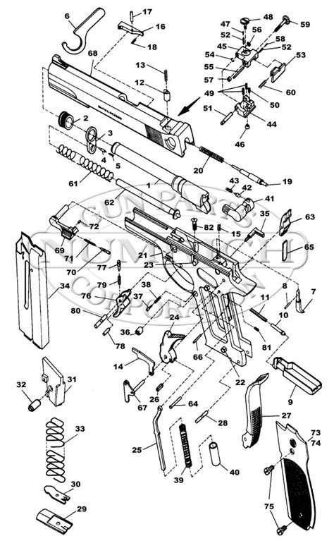 s w shield parts diagram smith and wesson wiring diagram wiring diagram and
