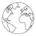 World Outline Drawing by World Drawing Stock Vector Clipart Me
